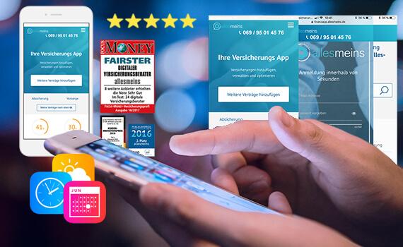Versicherungen digital verwalten